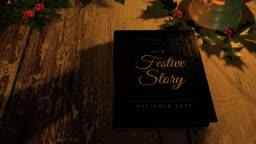 Festive Storybook Opening
