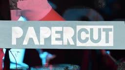Paper Cut Title