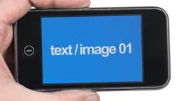 Smart Phone Hand Held Slideshow