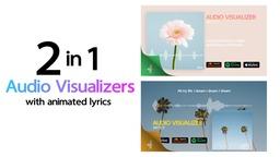 Audio Visualizer 2in1