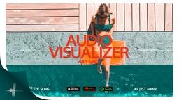 Audio Visualizer Slideshow with Lyrics