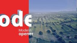 Clean Modern Opener
