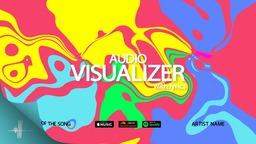 Color Audio Visualizer with Lyrics