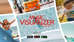 Music Visualizer 3D with Lyrics