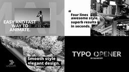 Typography Opener