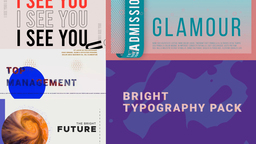 Bright_typography_pack