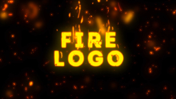 Cartoon Fire Logo