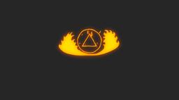Hand Drawn Fireball Logo