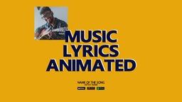 Animated Lyrics Template