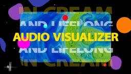 Modern Lyrics Audio Visualizer