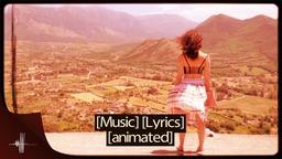 Retro Lyrics Template