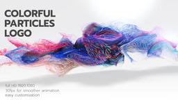 Colorful Particles Logo