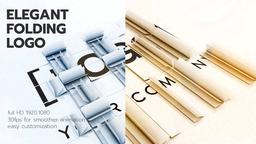 Elegant Folding Logo