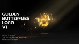 Golden Butterflies Logo 1