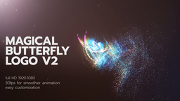 Magical Butterfly Logo 1