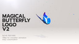 Magical Butterfly Logo 2