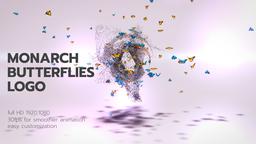 Monarch Butterflies Logo