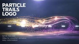 Particle Trails Logo