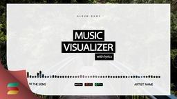 Audio Visualizer White