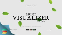 Leaves Music Visualizer