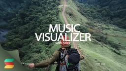 Music Visualizer Parallax