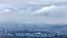 서울 도시 전경
