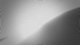 Concentric black and white lines