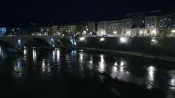 Time lapse from river Tiber