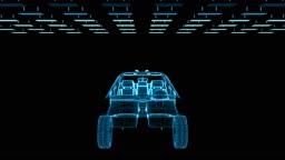 Car blueprint sketch assembling