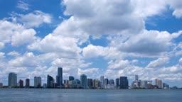 Miami Skyline im Zeitraffer - Time lapse of the Miami skyline