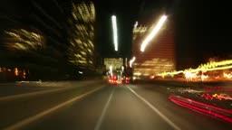 johannesburg - Time Lapse - driving shot