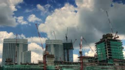 Under construction time lapse