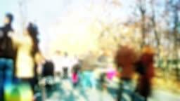 Crowd time lapse