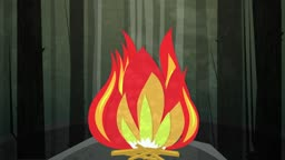 Dynamic graphic animation using paper cutout styled elements to illustrate a camp fire in the woods. High definition 1080p and loop-ready. This is one of a suite of simple paper cutout style animated illustrations which have similar dynamics. Please check