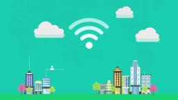 건물과 건물을 연결해주는 와이파이
