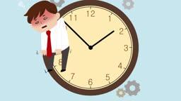 jv11007206_시간 압박 혹은 야근으로 지친 직장인