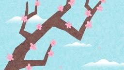 jv11117491_기와 담장에 떨어지는 꽃잎들