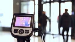코로나19, 열화상 카메라