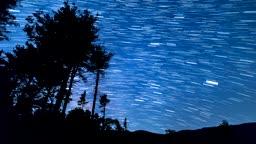 강원도 정선군 밤하늘 풍경